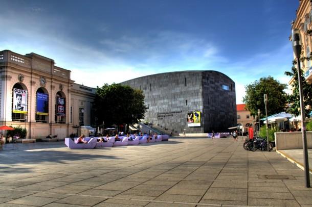 Plaza de Museumsquartier